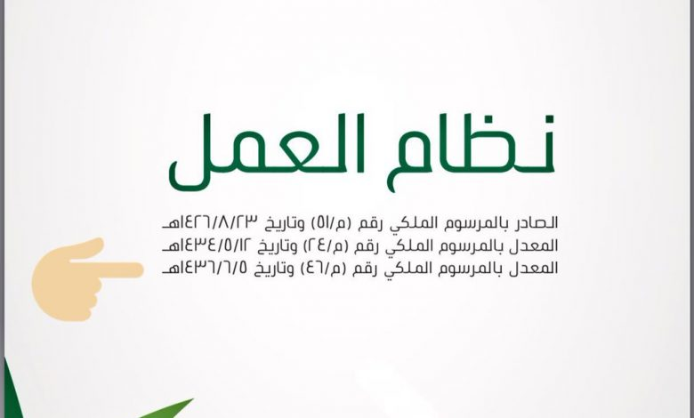 بالتفاصيل تعديلات نظام العمل السعودي الجديد 1442 كراكيب نت